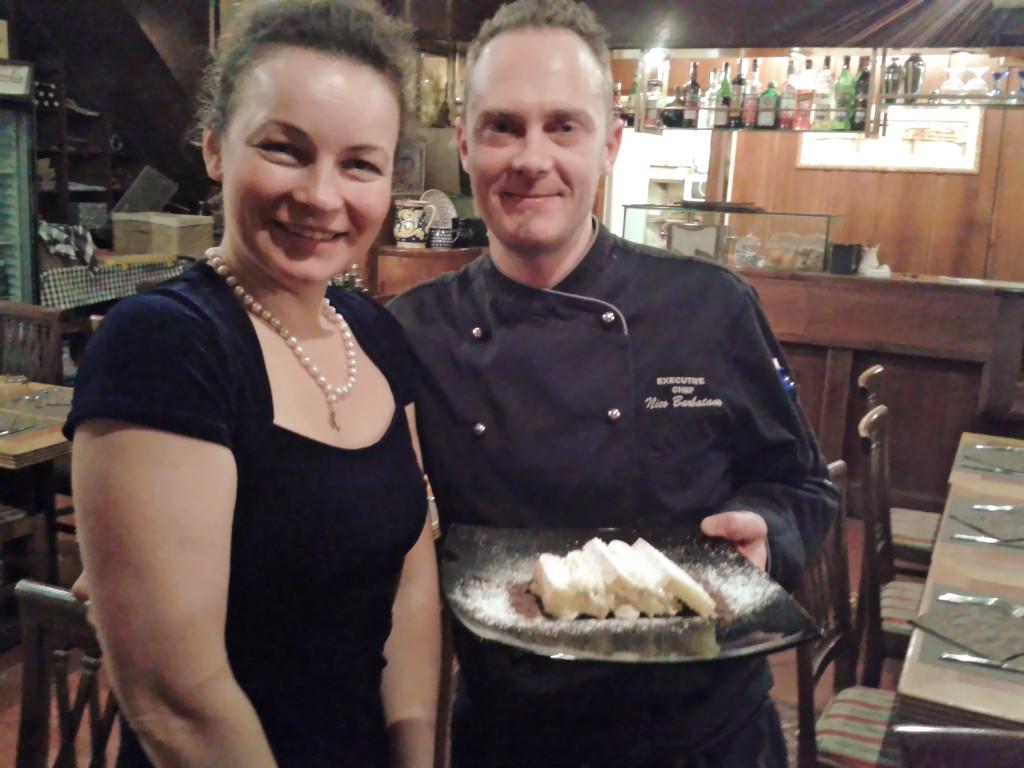 В конце ужина итальянское DOLCE от шеф-повара ресторана Флоренции