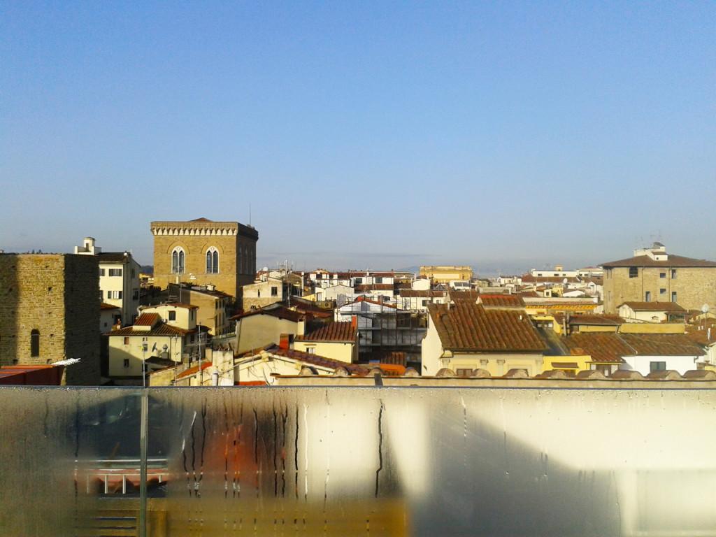 Флоренция. С открытой террасы ресторана Grand Hotel Cavour можно разглядеть каждый уголок этого изумительного города