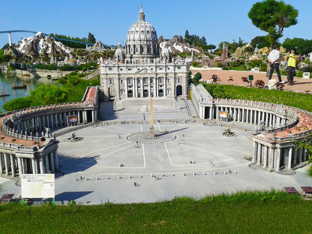 Копия Собора Святого Петра в Риме