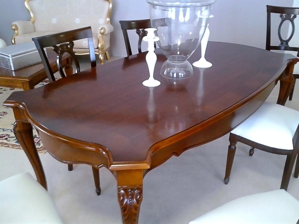 Шоу-рум «Stilema», раскладной стол в собранном виде