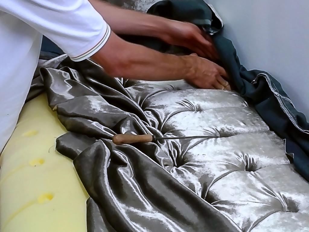 На фабрике мягкой мебели «Misura i salotti»