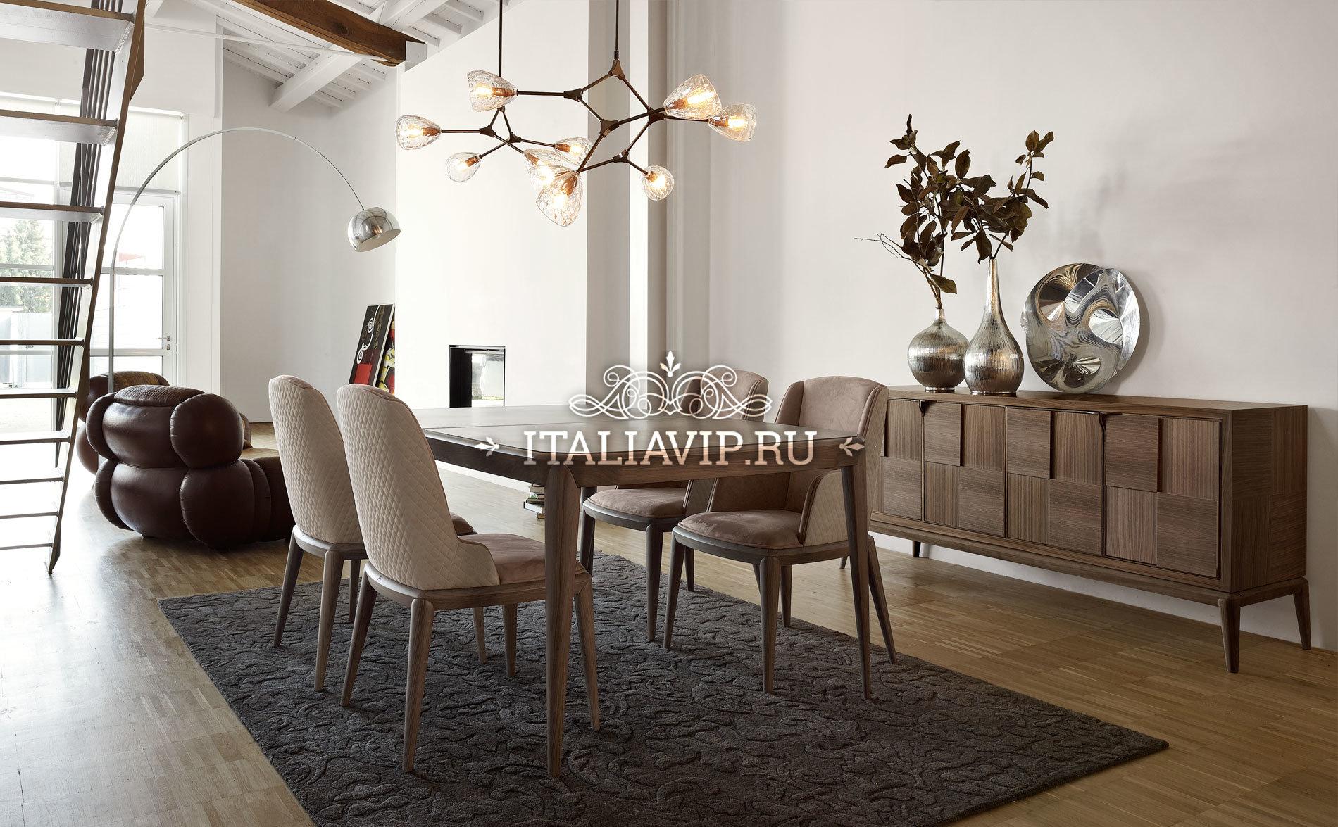 Фабрика Volpi (Италия). Столовая мебель.
