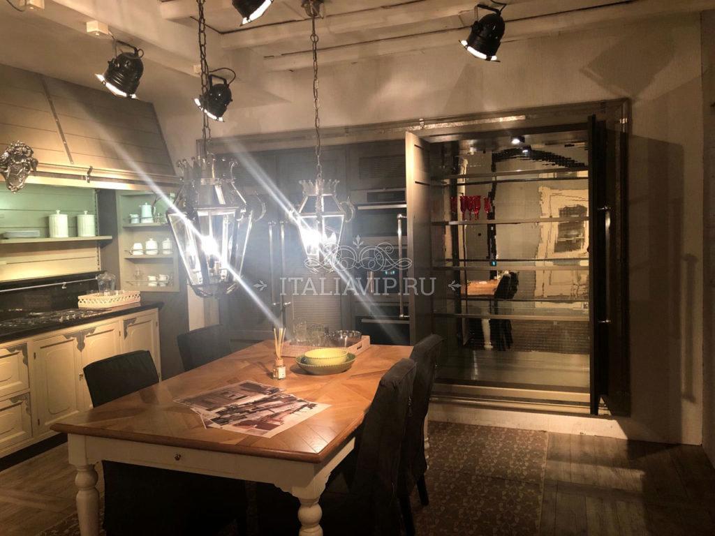 Кухня из Италии в стиле Лофт