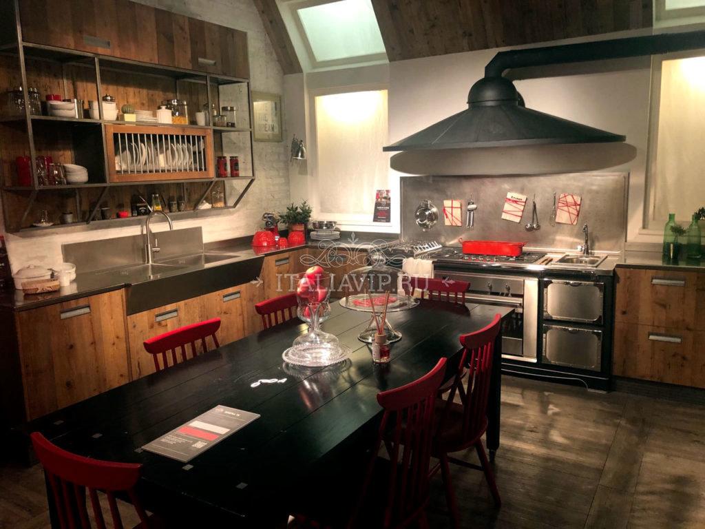 Итальянская мебель (кухня) в стиле Лофт