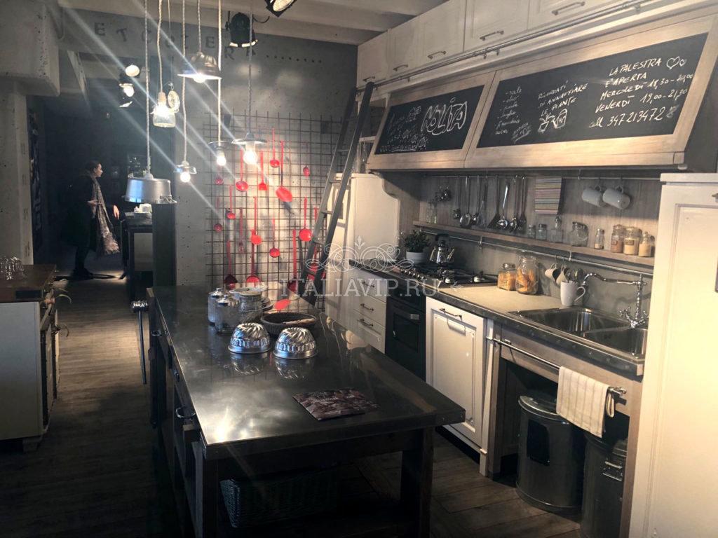 Кухня из Италии в стиле Loft