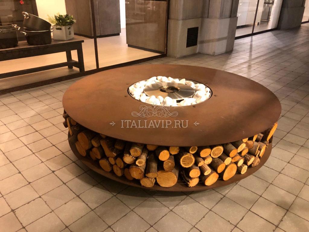 Био-камин из Италии