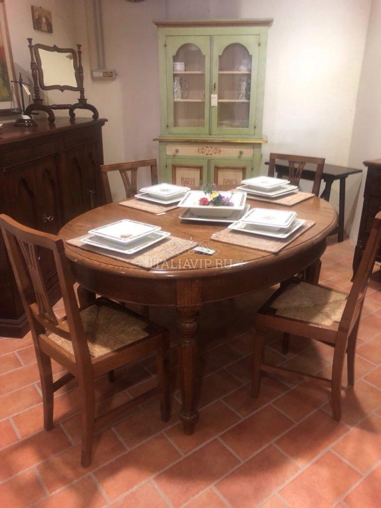 Обеденный стол производства Италии