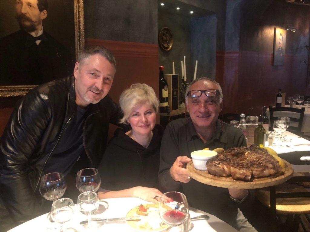 В Итальянском ресторане