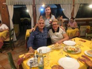 Наши гости в Италии