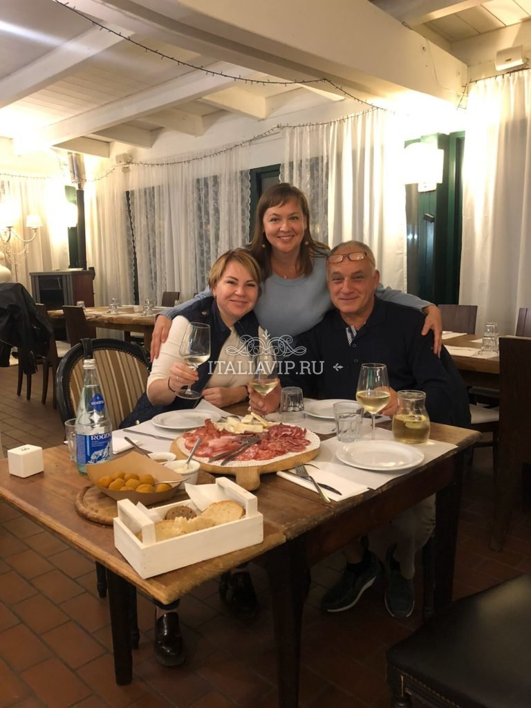 Ужинаем в итальянском ресторане